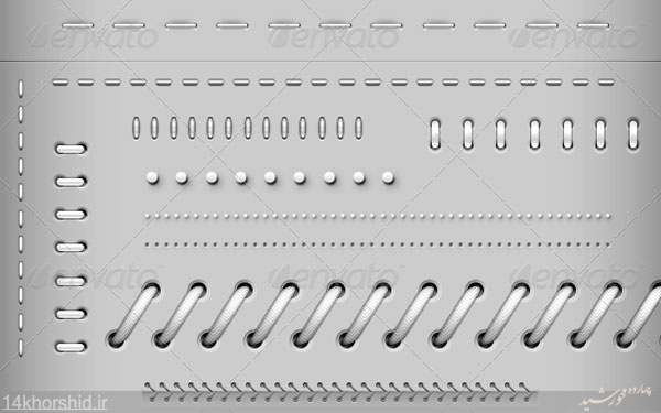 دانلود طرح لایه باز خطوط جدا کننده = فنری