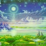 چرا درقران بهشت با درختان وآب ها مثال زده شده است؟