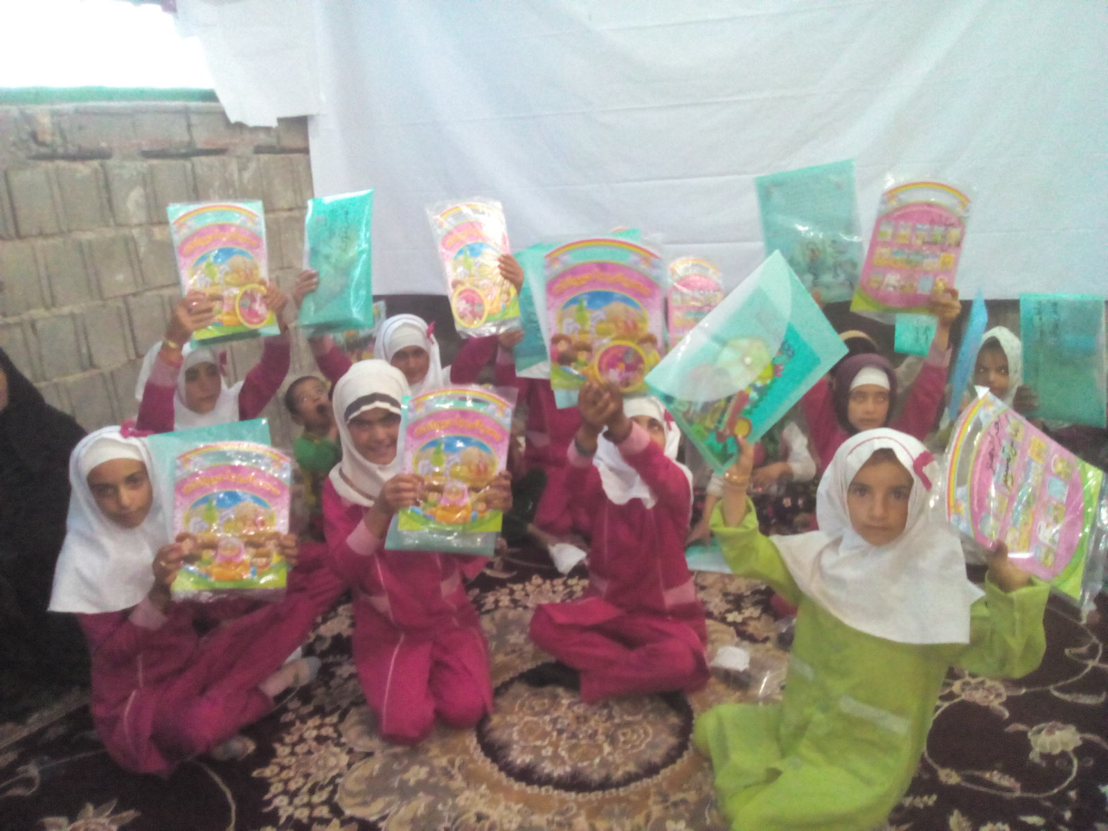 تصاویری از اردوی جهادی