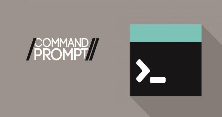 ۴ دستور کاربردی در Command Prompt که هر کسی باید بداند