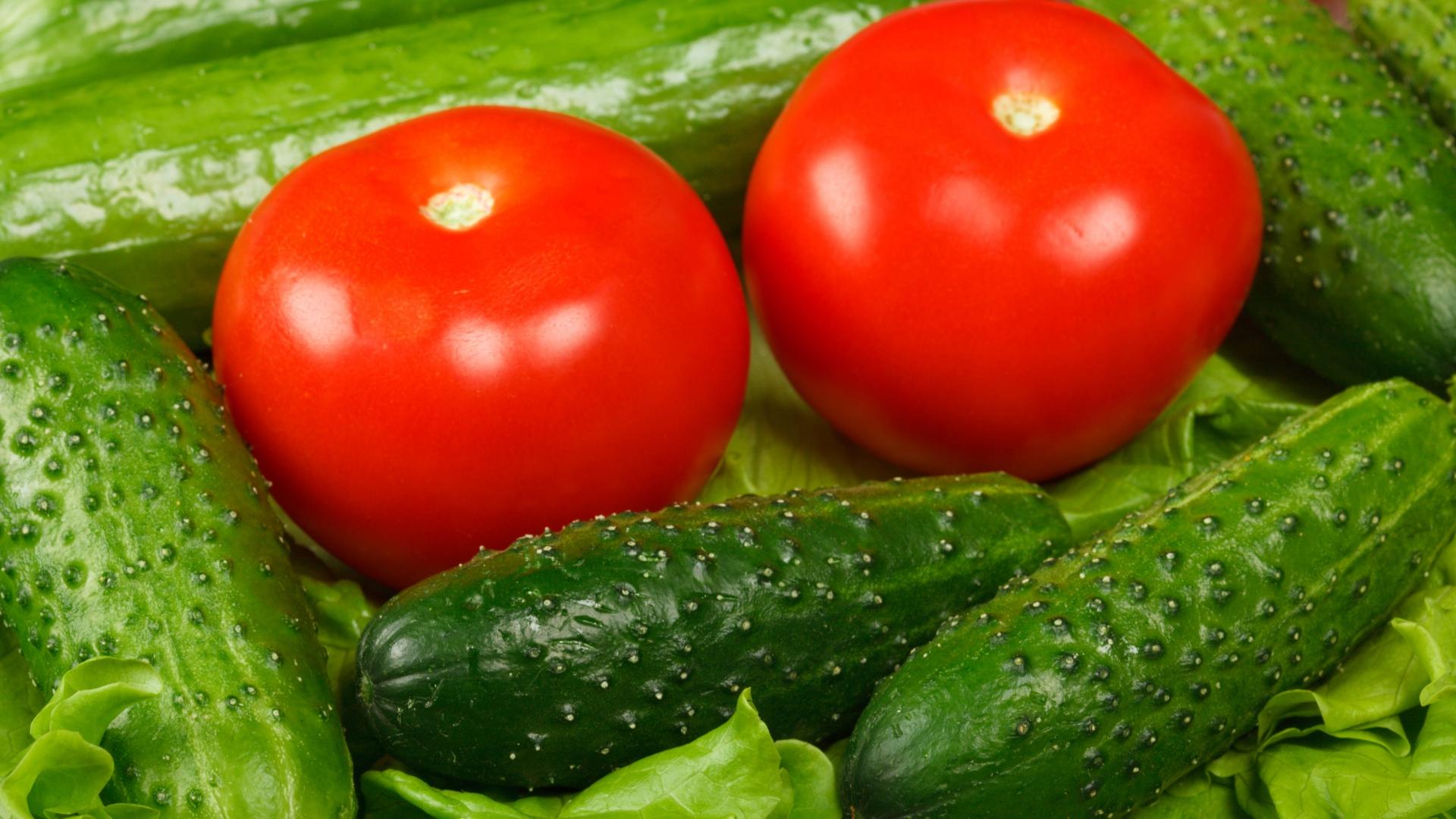 به این دلایل خیار و گوجه را با هم نخورید