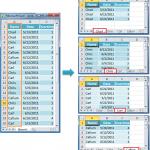 طریقه تفکیک اطلاعات یک جدول در شیتهای مختلف در اکسل